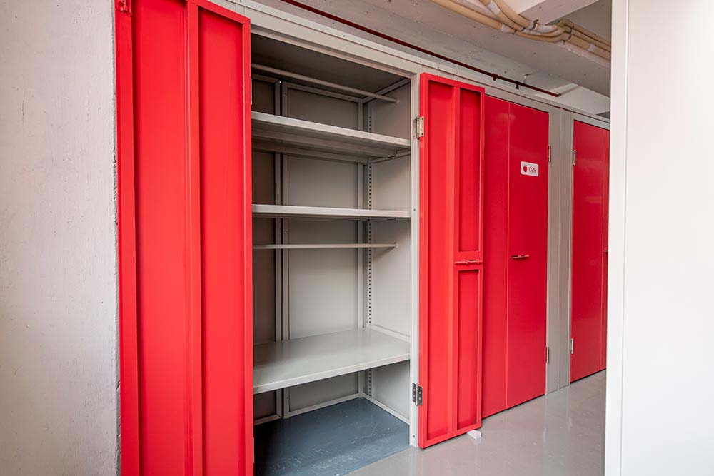 Shelved Storages & Clothing Storage